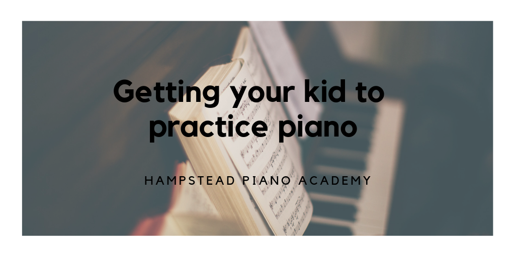 get busy kids practice piano