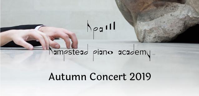 Autumn Concert 2019 Hampstead Piano Academy