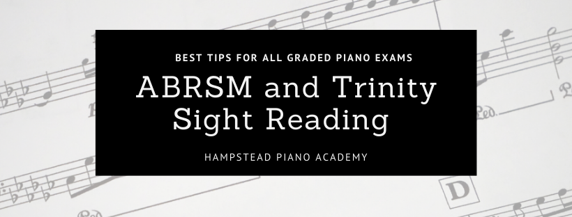 ABRSM and Trinity Sight Reading Piano Exams Best tips Grades 1-8