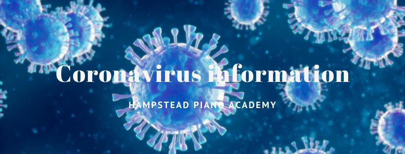 Coronavirus piano lessons advice guidance