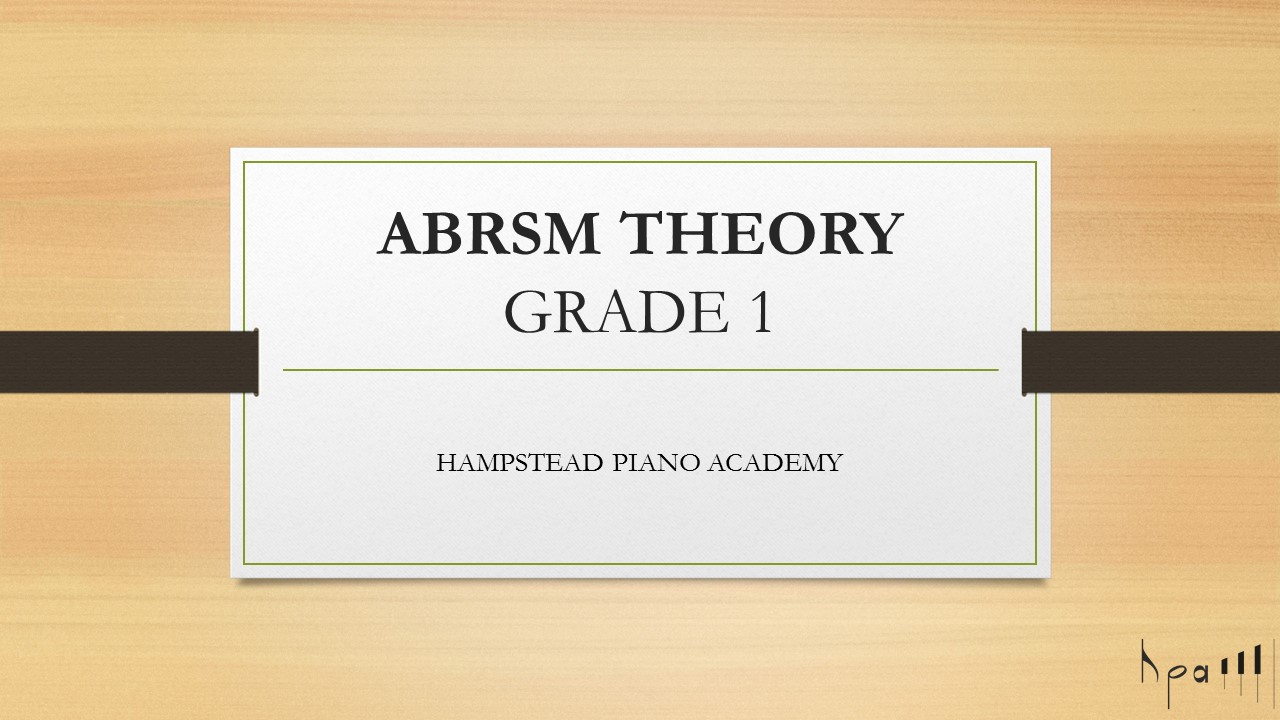 Grade 1 ABRSM Music Theory Online Course