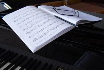 ABRSM mock exam at the piano